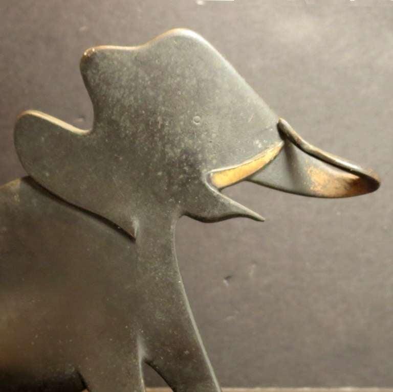 Bronze Elephant Sculpture by Karl Hagenauer 3