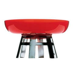 'Tavola Rossa' Centre Piece by Ettore Sottsass