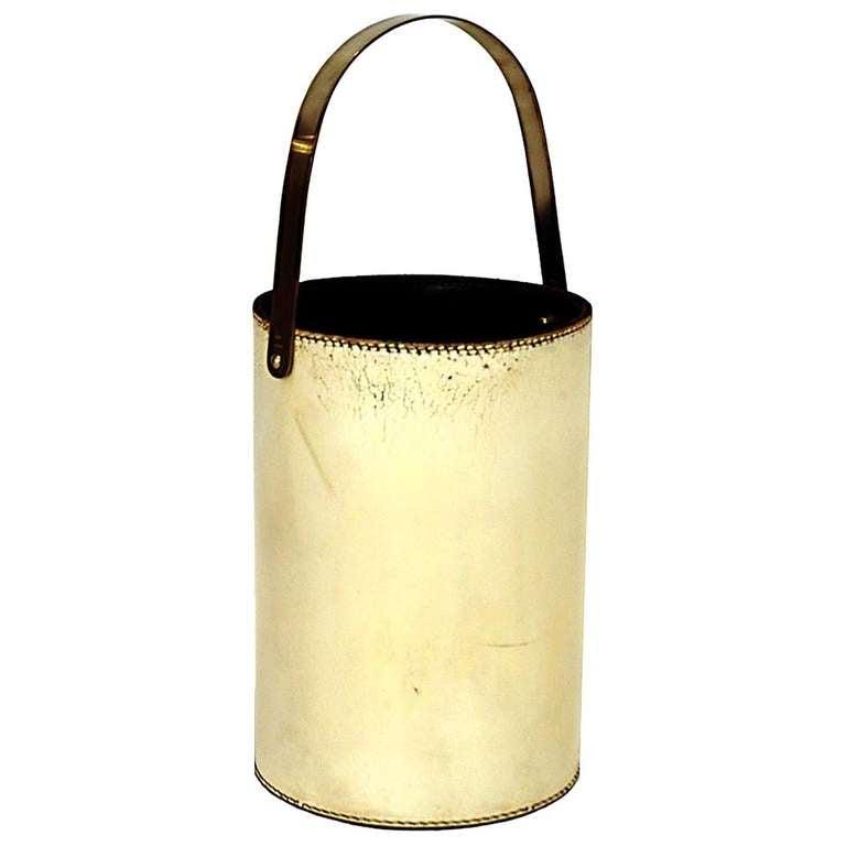 Wastepaper Basket, Carl Aubock, Austria 1960 1