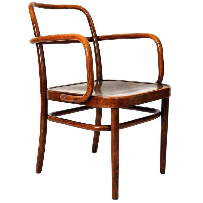 Bentwood Chair By Gustav Adolf Schneck Austria Circa 1930