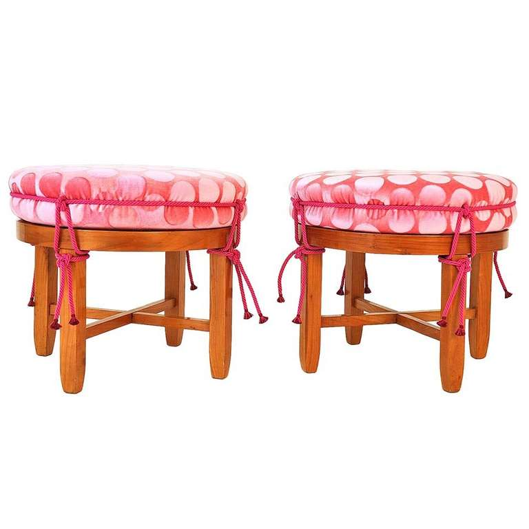 Stools Designed And Made In Austria 1920 1930 At 1stdibs
