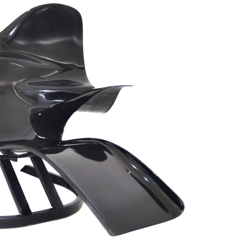 Elephant chair nr 37 100 designed by bernard rancillac for Bernard chaise lounge