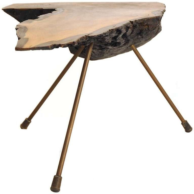 Carl Aubock Tree Trunk Table At 1stdibs