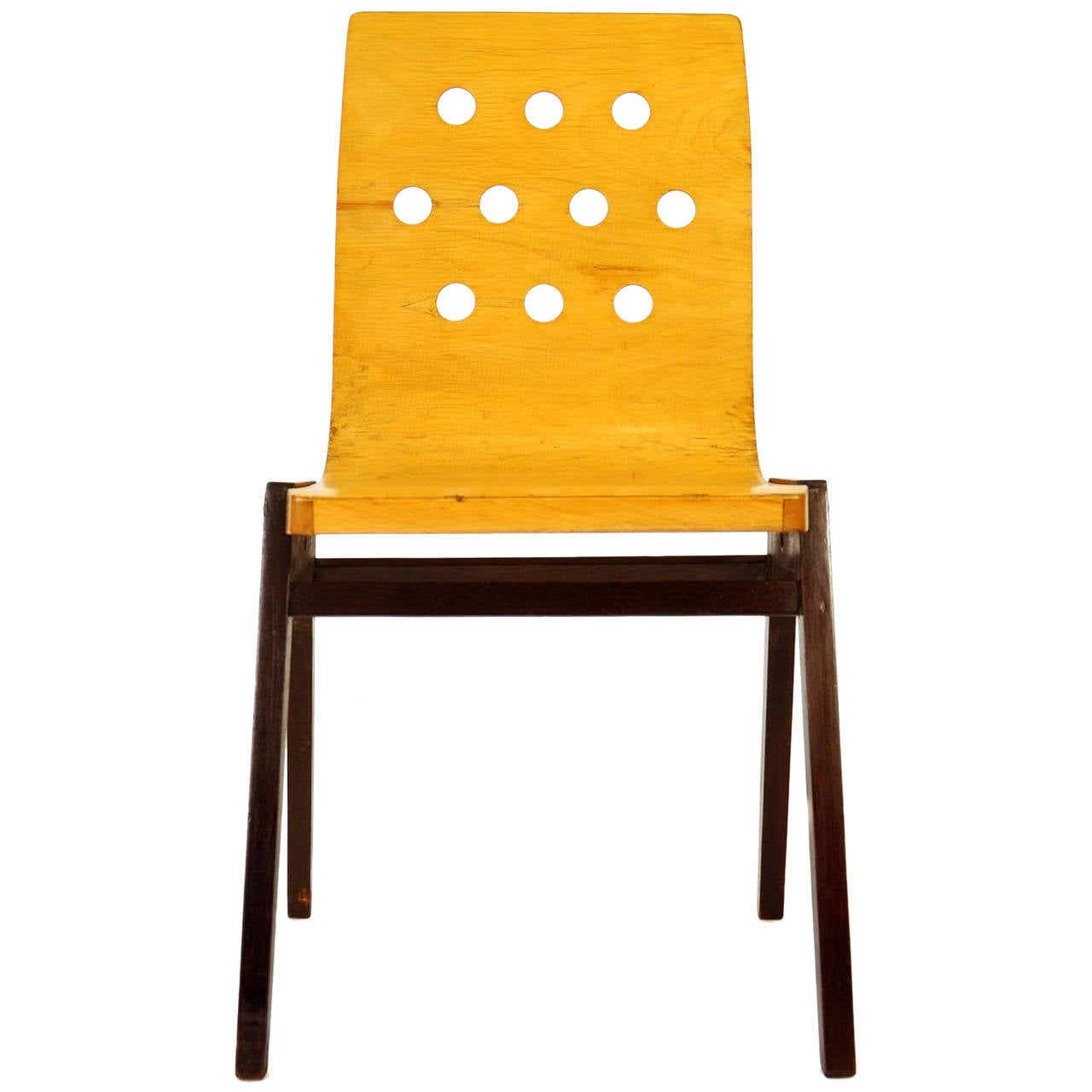 stacking chairs by roland rainer austria 1