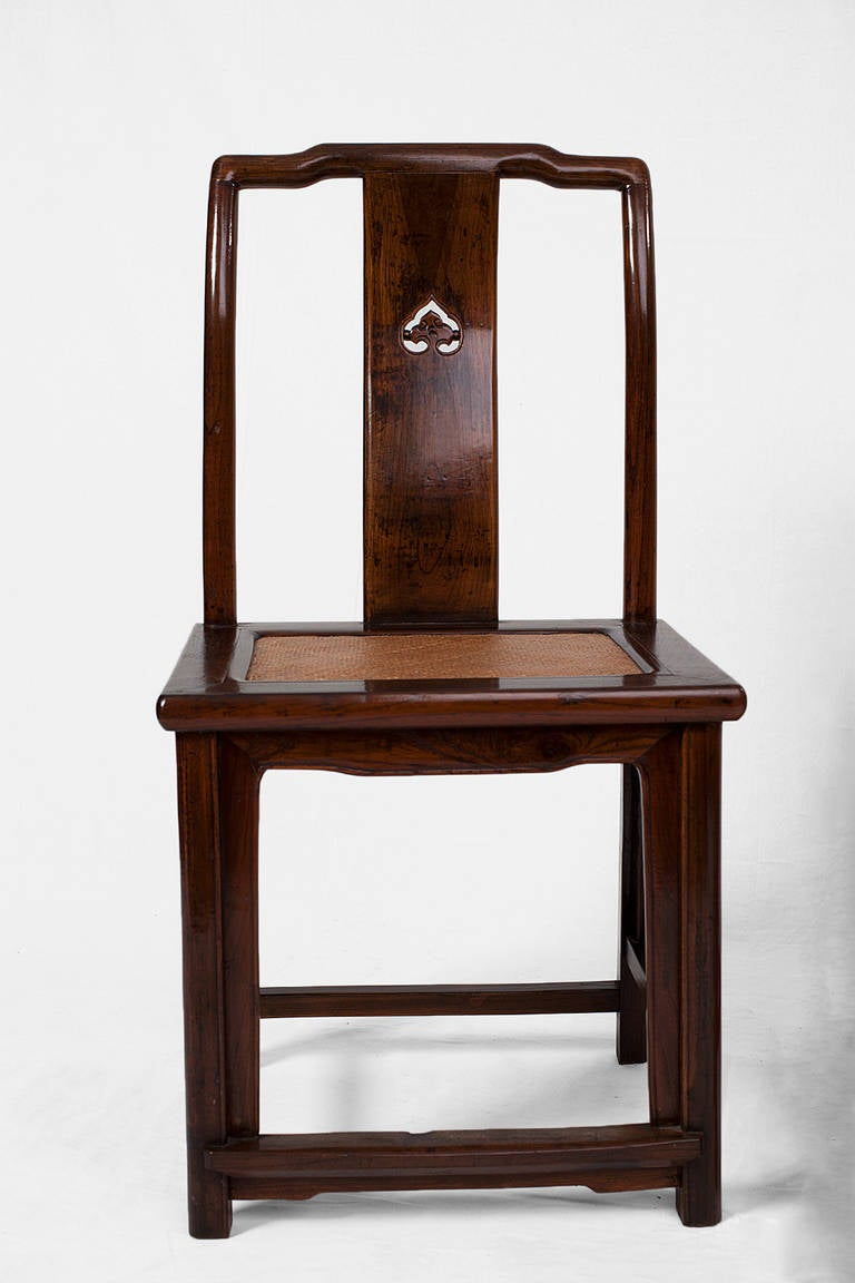 Pair of elegant antique chinese side chairs from suzhou for Asian chairs for sale
