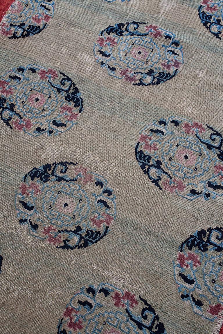Rare Antique Tibetan Chinese Silk Brocade Pattern