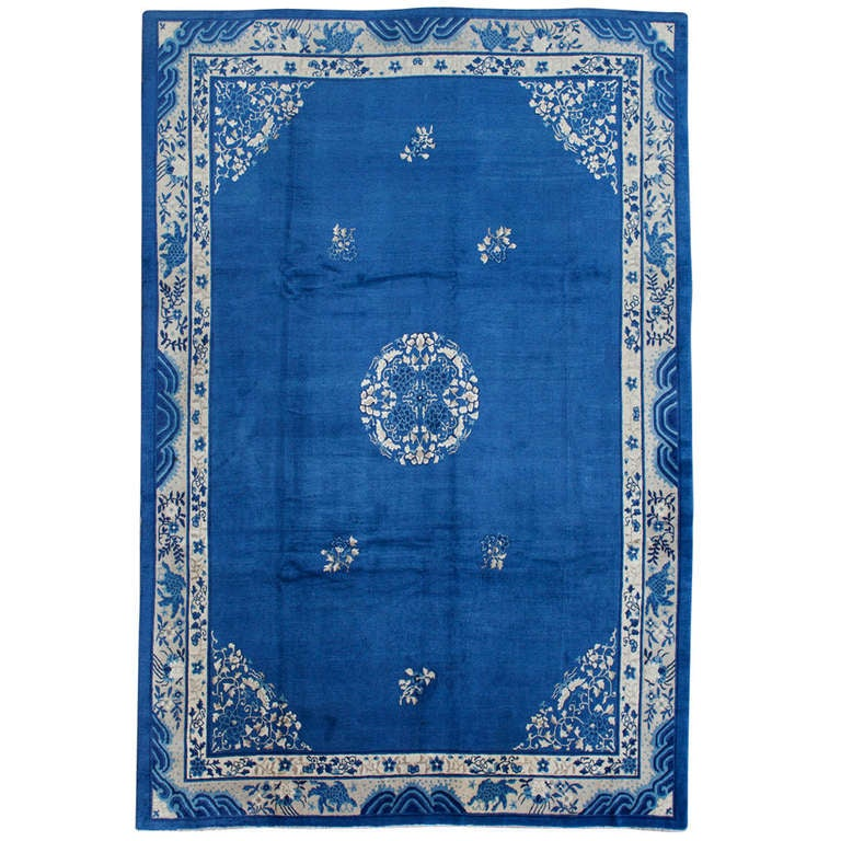 Classic Elegant Peking Rug At 1stdibs