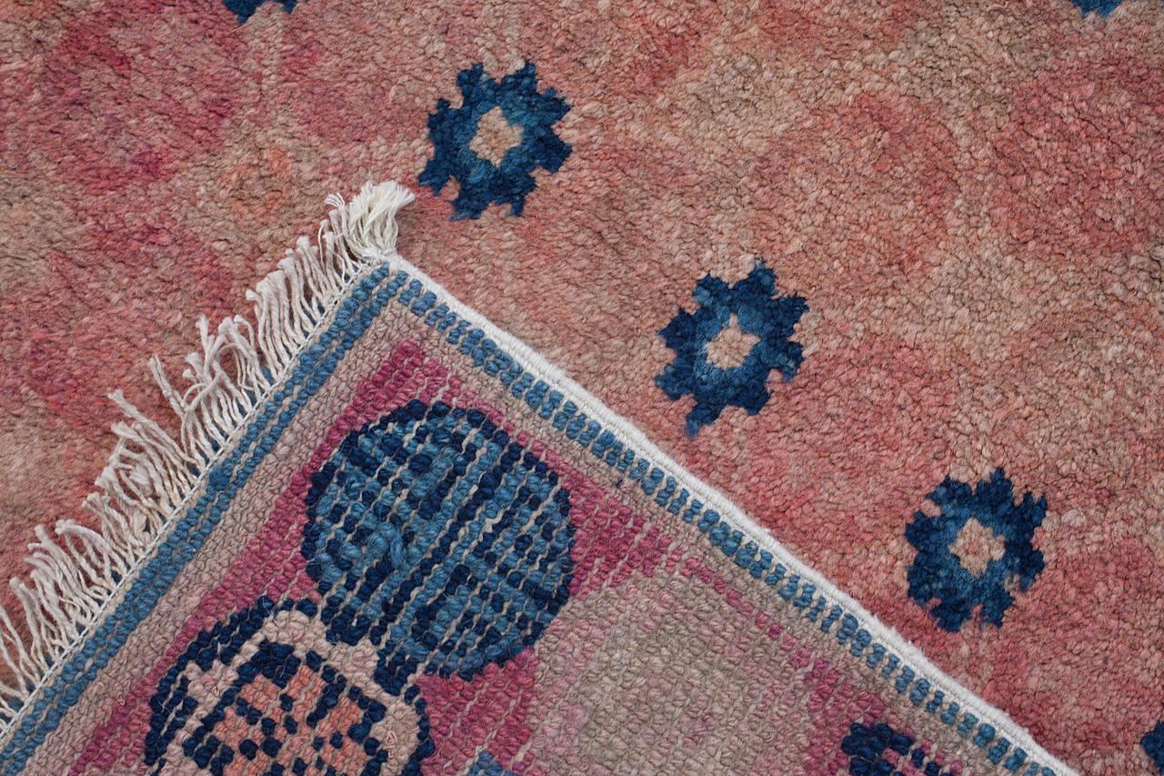 Mongolian Rug 70 x 90cm - Charcoal | Home Decor | Rugs - B&M |Mongol Rug