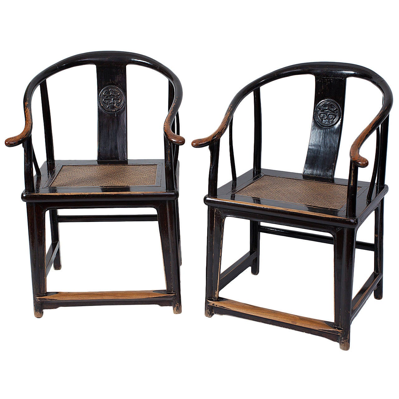 Excellent pair of 17th century ming dynasty chinese for Oriental furniture for sale