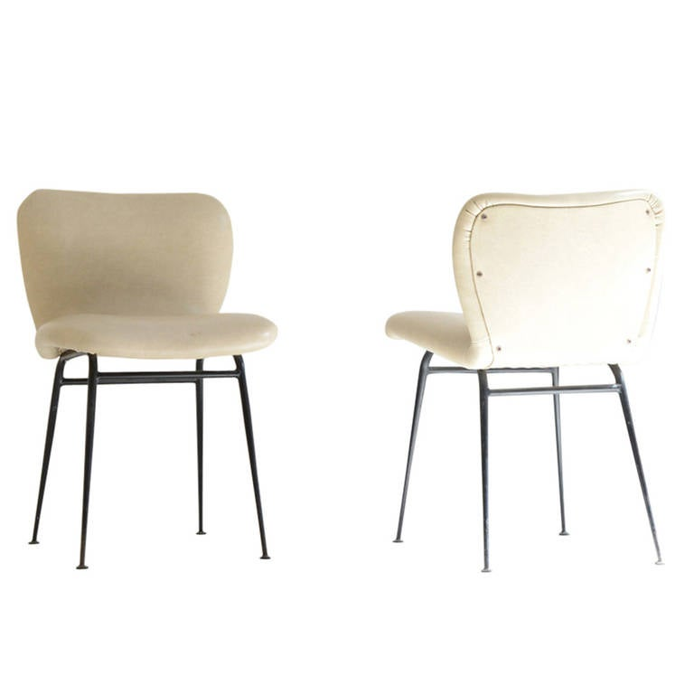 Pair of Louis Sognot Chairs Edited by Arflex