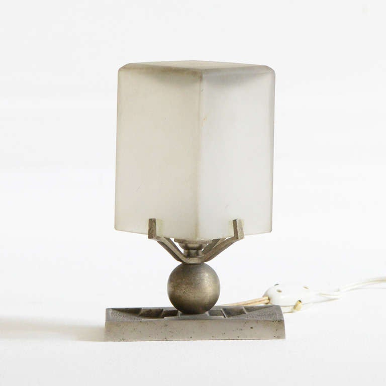 French Art Deco Table Lamp 2