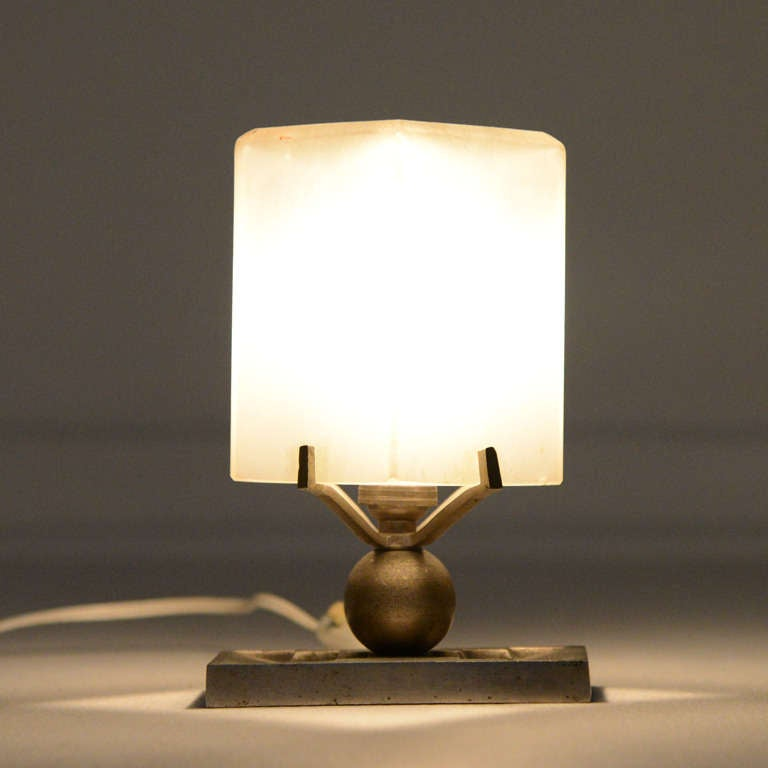 French Art Deco Table Lamp 3