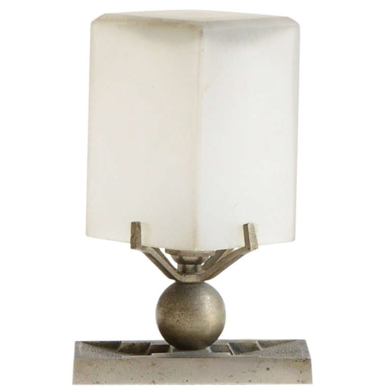 French Art Deco Table Lamp 1