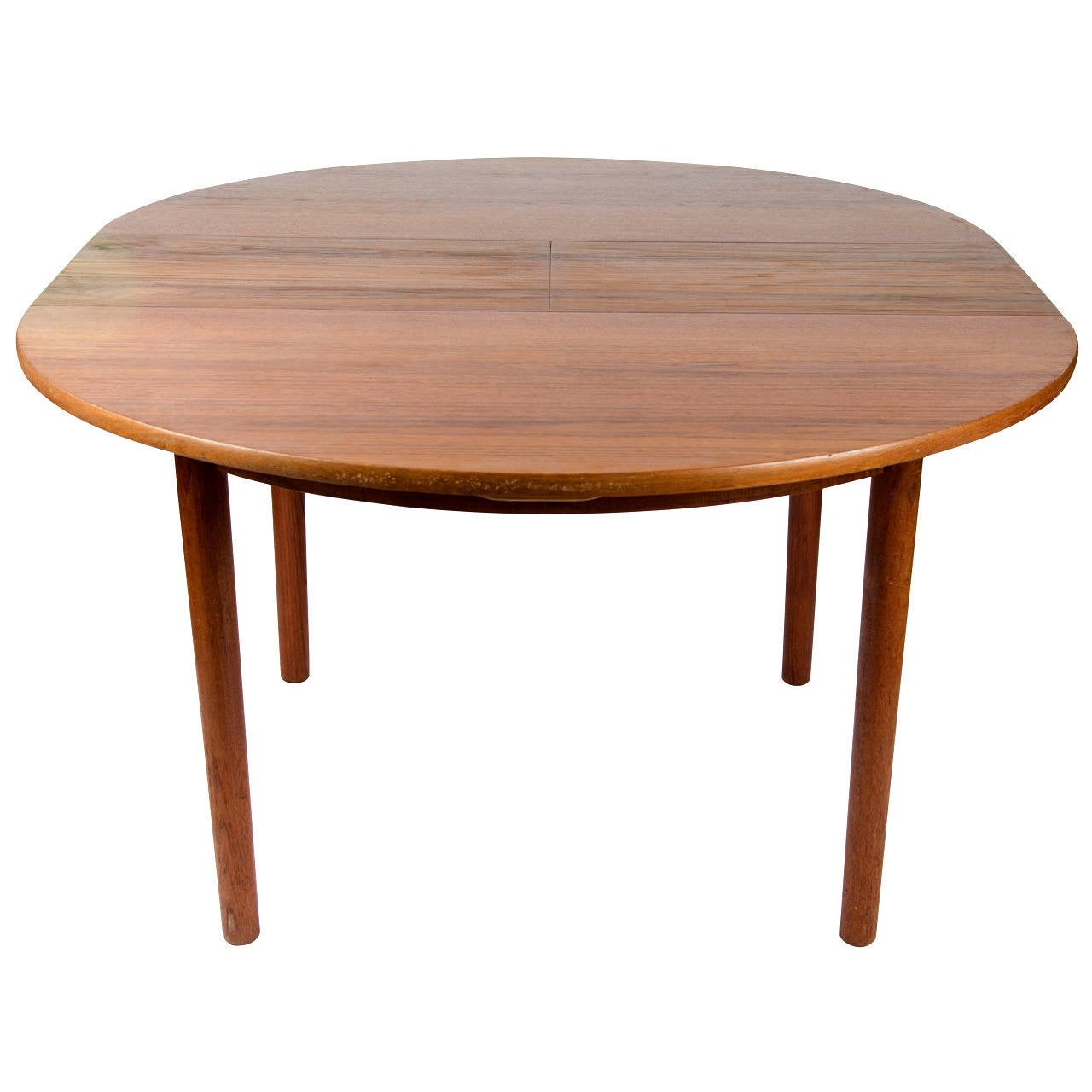 Mid Century Teak Extending Dining Table by Malcolm Walker  : 1mainorgl from www.1stdibs.com size 1280 x 1280 jpeg 83kB