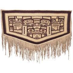Early Northwest Coast Chilkat Robe - Mid 19th Century
