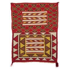 Navajo  Saddle Blanket - circa 1930