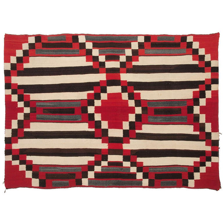 Navajo Third Phase Chiefs Blanket At 1stdibs