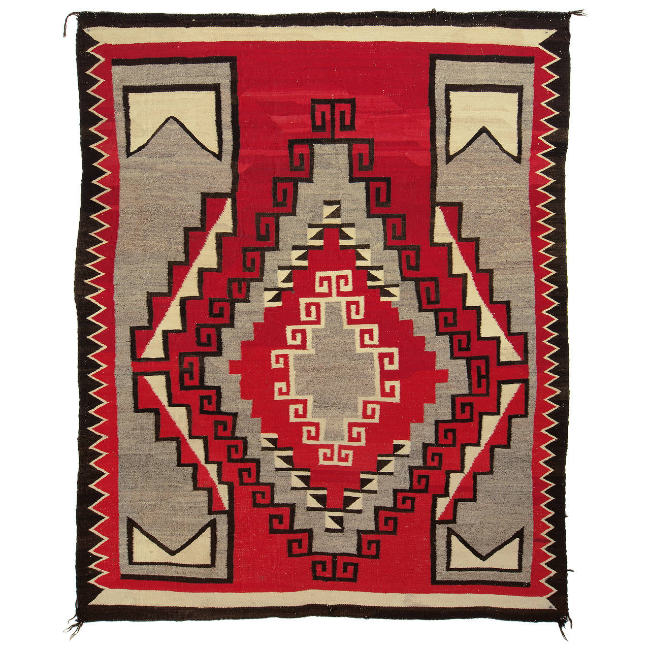 Antique Regional Navajo Rug, Circa 1940 For Sale At 1stdibs