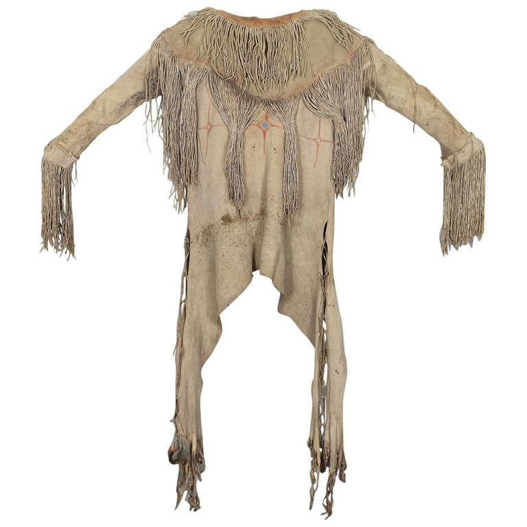 American Furniture Denver Co Native American Plains War Shirt - Kiowa, circa 1880 at ...