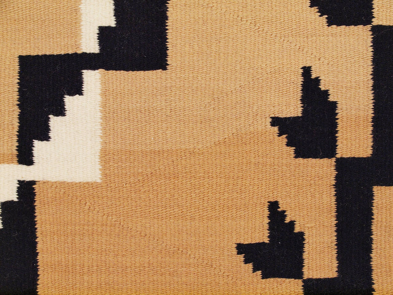 Hand-Woven Vintage Navajo Rug, Crystal Trading Post, Mid-20th Century For Sale