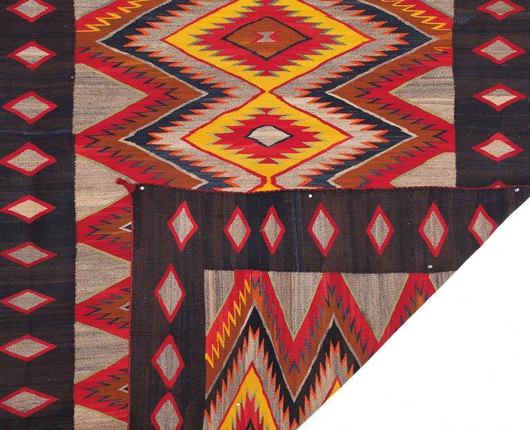 Vintage Red Mesa Rug Navajo Circa 1930 At 1stdibs