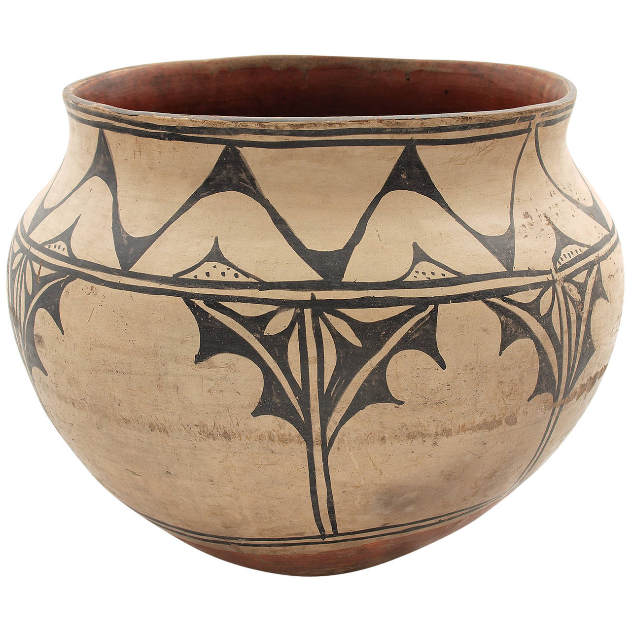 Native american pottery storage jar cochiti at 1stdibs for Native american furniture designs