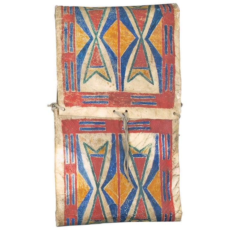 19th Century Native American Parfleche Container