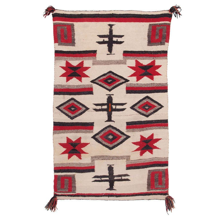 Vintage Navajo Wall Hangingcrame Wall Hanging For Southwest