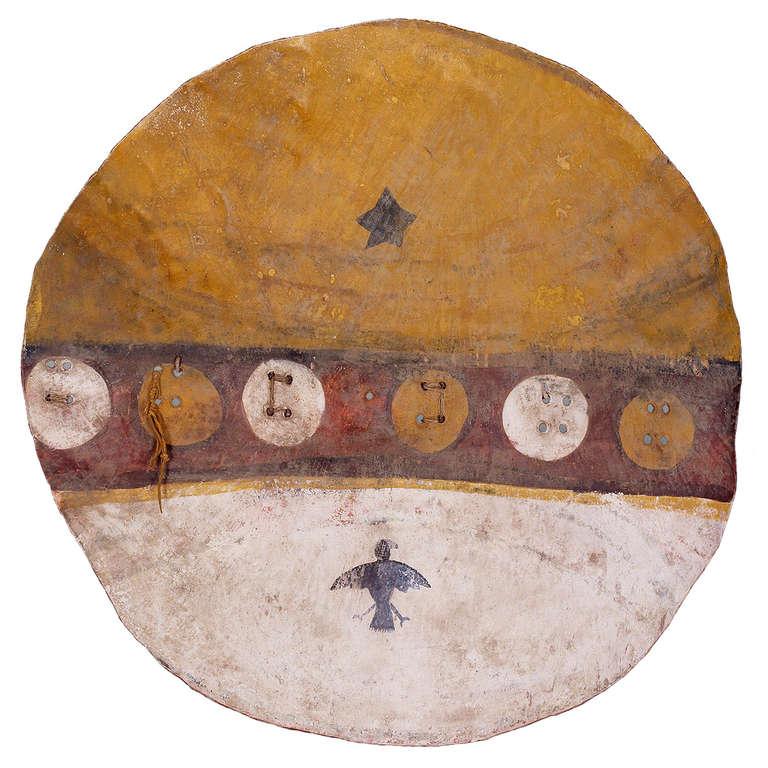 Antique Native American Shield Pueblo Circa 1870 At 1stdibs