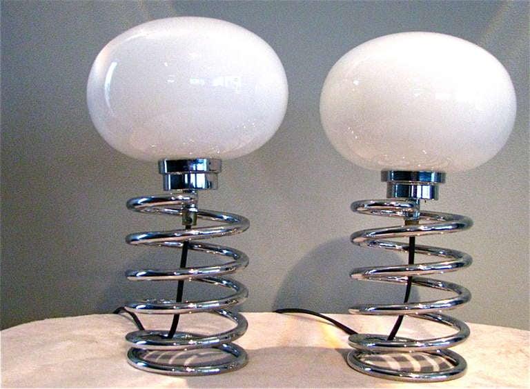 Ein Paar der deutschen Mitte des Jahrhundert Schreibtisch Lampe Ingo Maurer 2