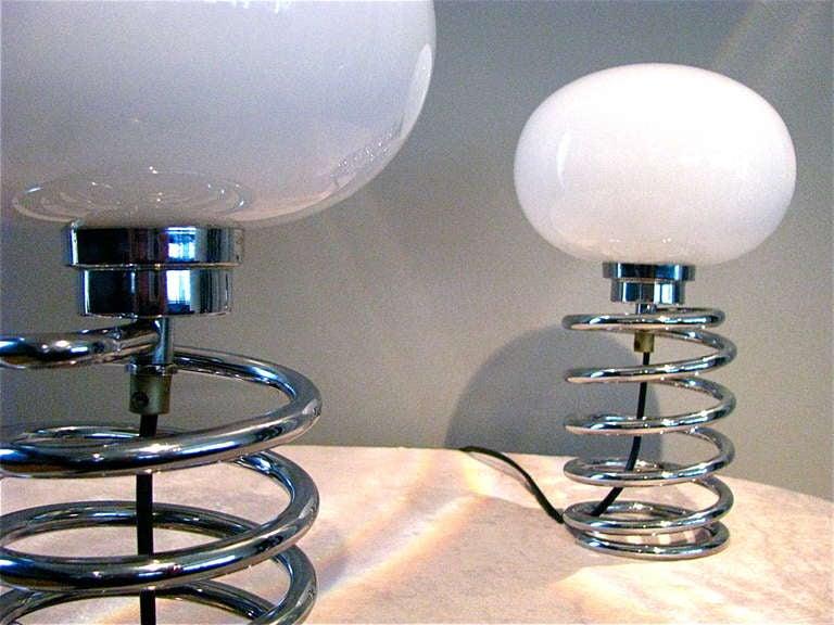 Ein Paar der deutschen Mitte des Jahrhundert Schreibtisch Lampe Ingo Maurer 7