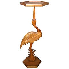 1950 Sculptural Mid Century Bird Table Teak from Denmark