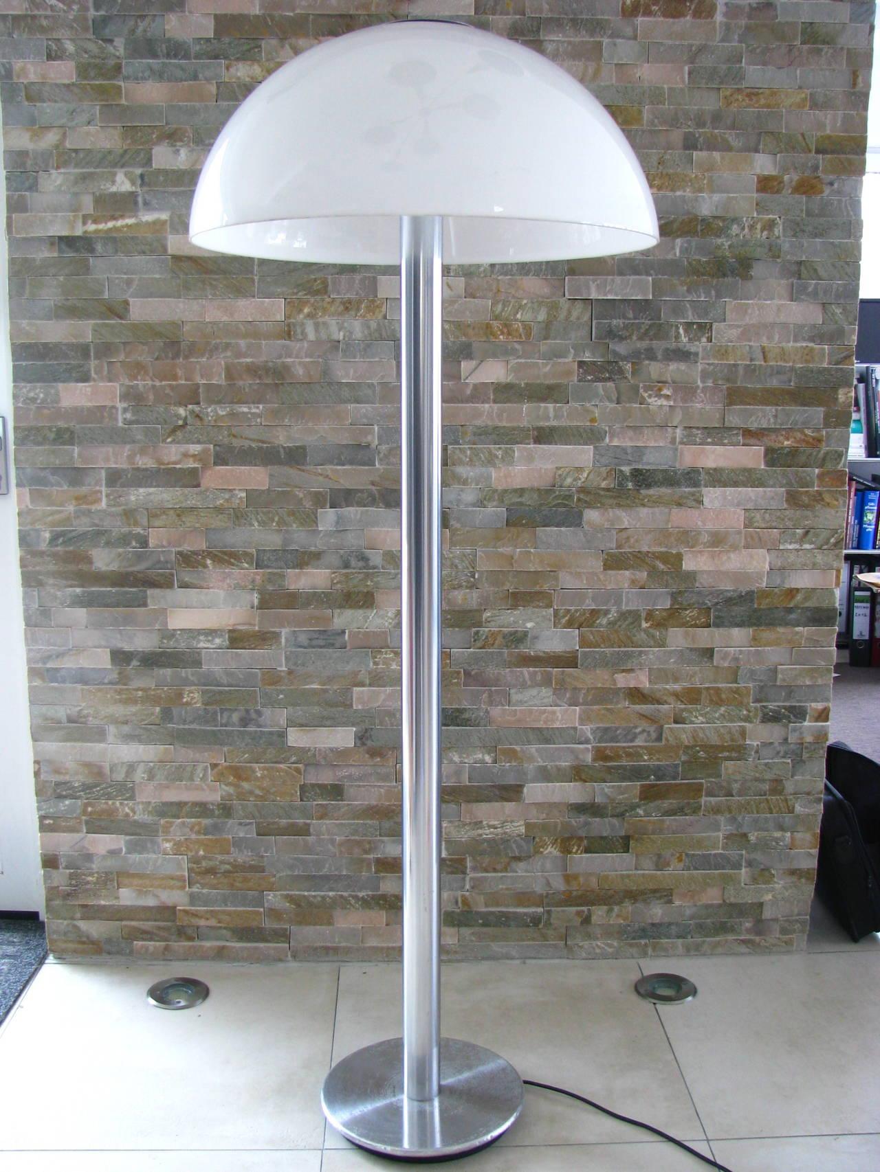 German 1960s mushroom floor lamp from staff at 1stdibs for German floor lamps