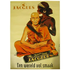 Oversized Chocolate Advertising Poster, 1999, Belgium