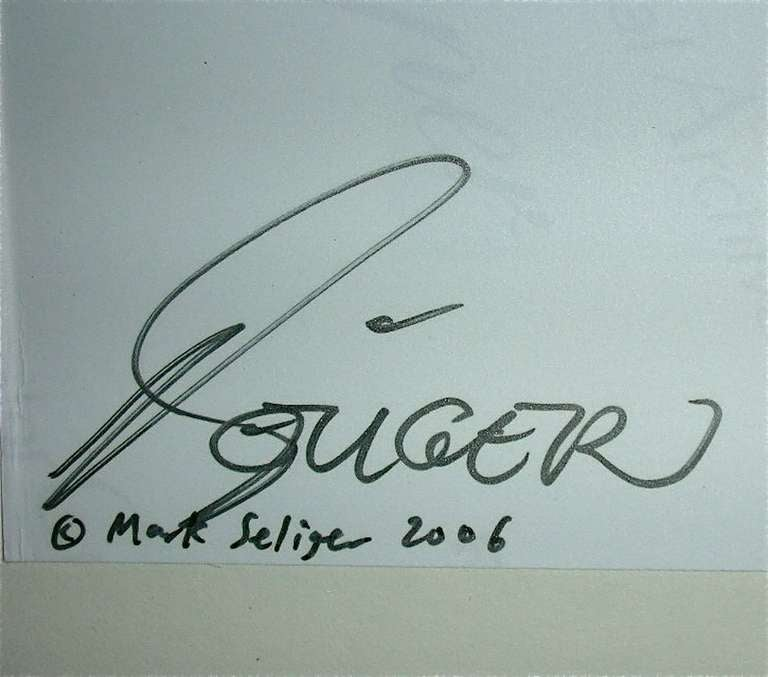 Mark Seliger, Brad Pitt 1997/2006 Signed + No. 13/25 In Excellent Condition In Munich, DE