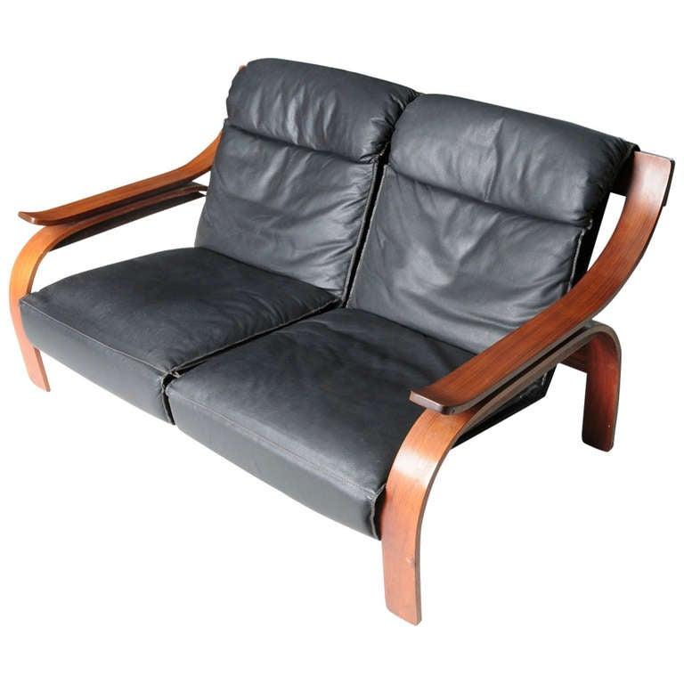 quite unique woodline sofa at 1stdibs. Black Bedroom Furniture Sets. Home Design Ideas
