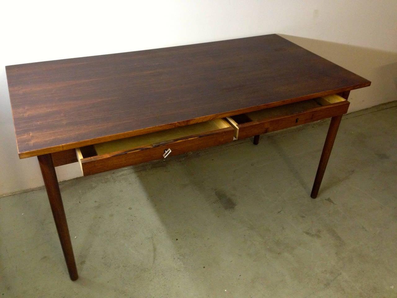 nice and elegant desk by arne vodder For Sale at 1stdibs