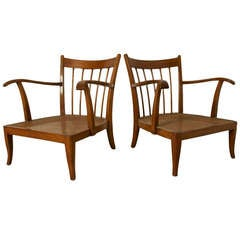 Set Of 2 Lounge Chairs