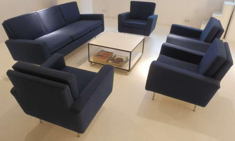 American Florence Knoll Sofa Set For Sale