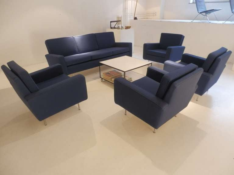 Florence Knoll Sofa Set In Excellent Condition For Sale In Munich, DE