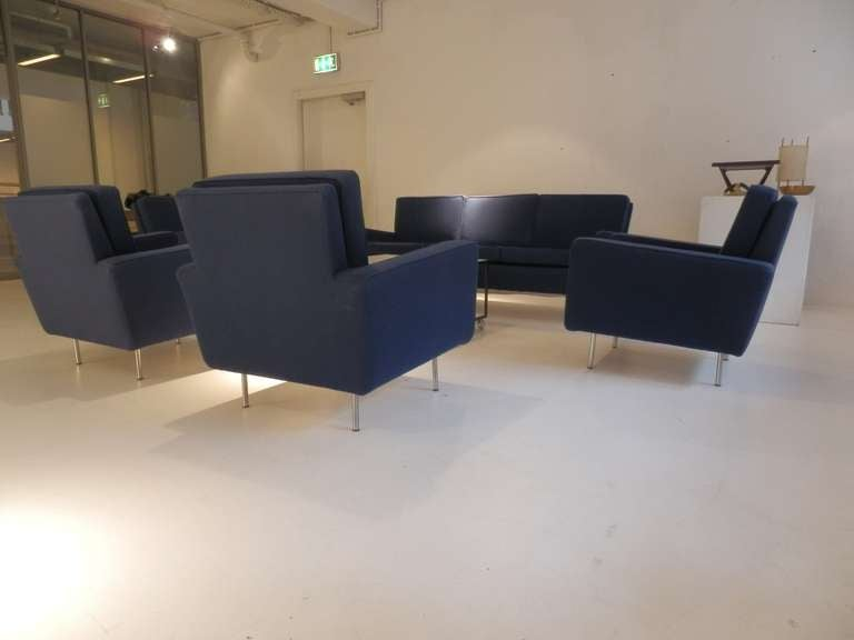 Mid-20th Century Florence Knoll Sofa Set For Sale