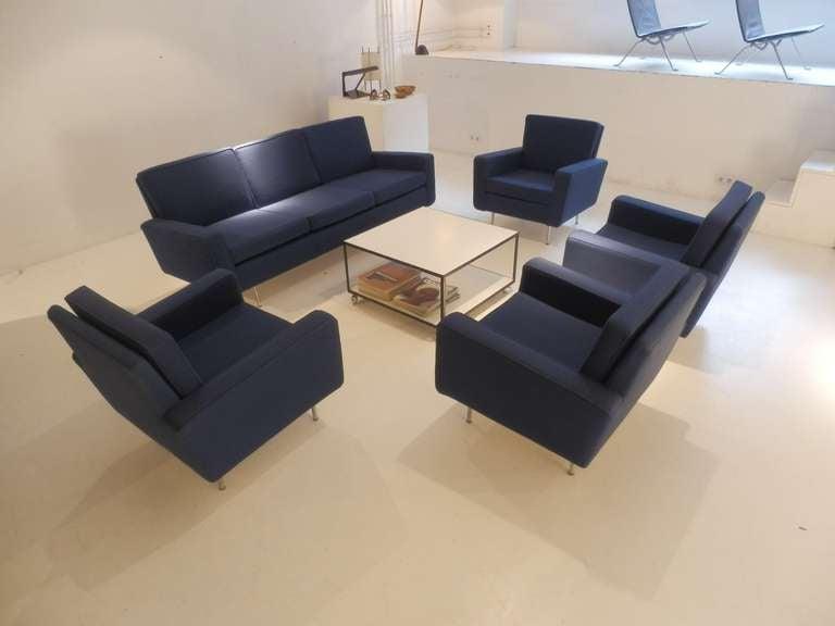 Florence Knoll Sofa Set For Sale 1