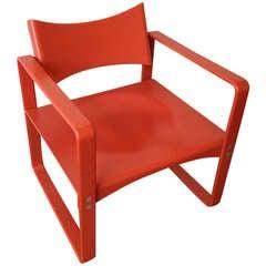 Rare Verner Panton 270f Lounge Chair