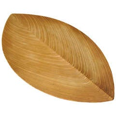 Ulta Rare Tapio Wirkkala Wood Leaf Platter 1951