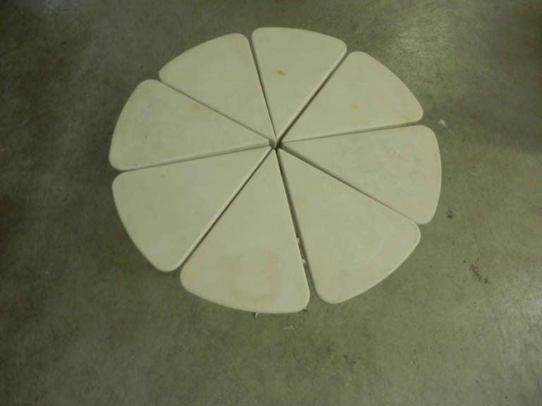 Unique Richard Schultz Petal Side Table Prototype In Fair Condition For Sale In Munich, DE