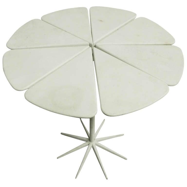 Unique Richard Schultz Petal Side Table Prototype For Sale