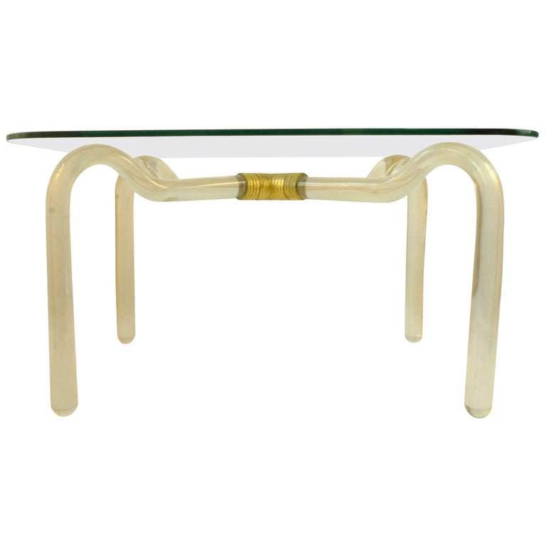 Seguso Vetri d'Arte Coffee Table For Sale