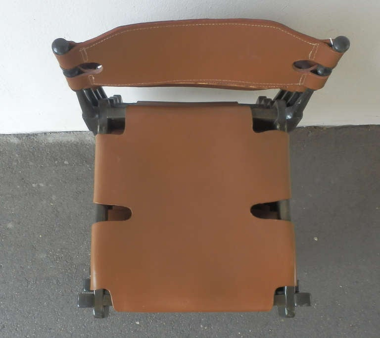 Very Rare Set of Four Montreal Dining Chairs For Sale 2
