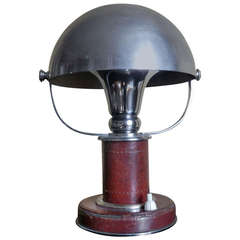 Rare and Early Table Lamp by Paul Dupre-Lafon