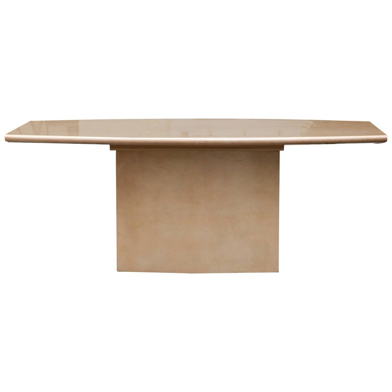 Aldo Tura Parchment Dining Table